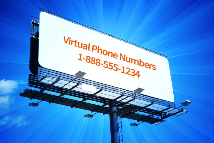 Virtual Phone Numbers for Billboards