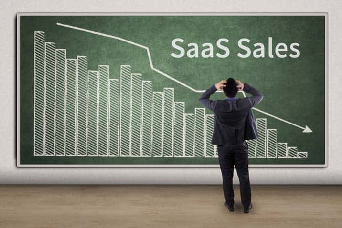 Why are your SaaS Sales dropping?
