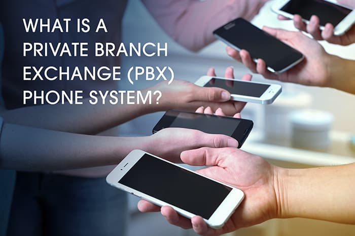 what is a pbx phone system