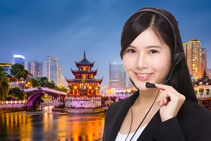 china toll free numbers